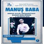Manuş Baba DEÜ Konseri – 2 Mayıs 2019