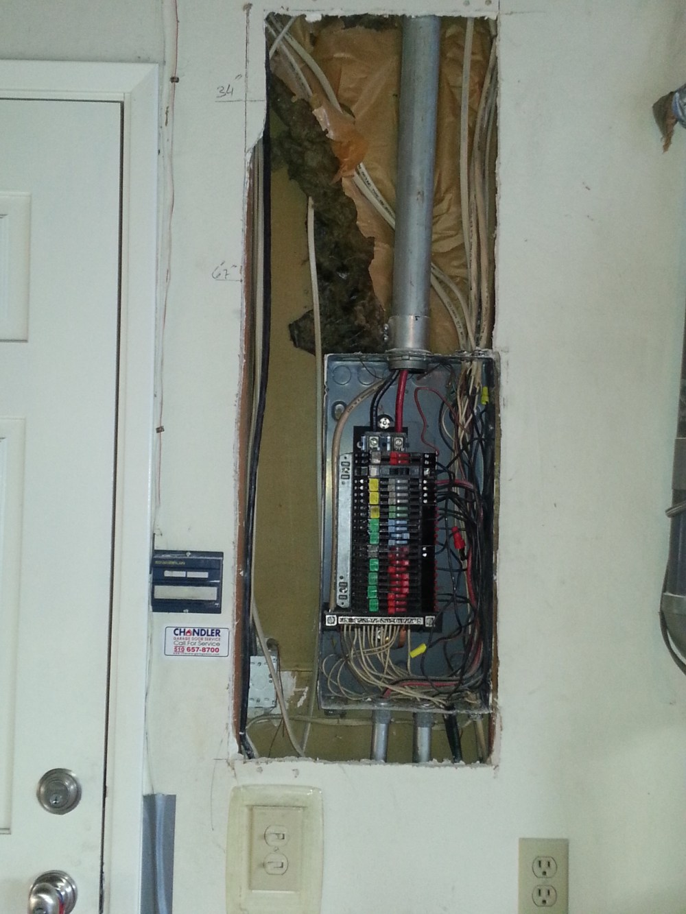 medium resolution of zinsco fire hazard panel to be replaced with 200amp rated square d panel in