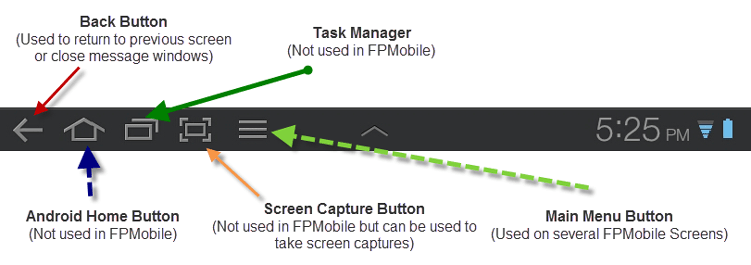 Android 3.0+ (Honeycomb) Controls