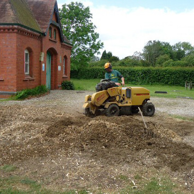 shropshire stump grinding