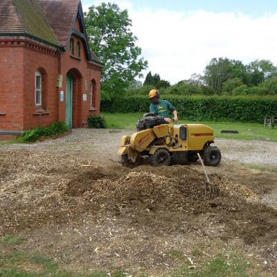 shropshire stump grinding