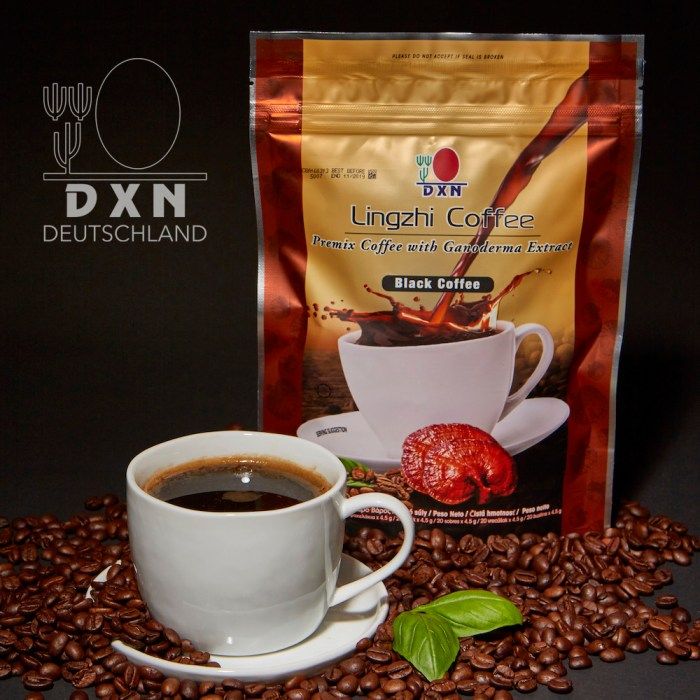 DXN Black Coffee - fekete kávé