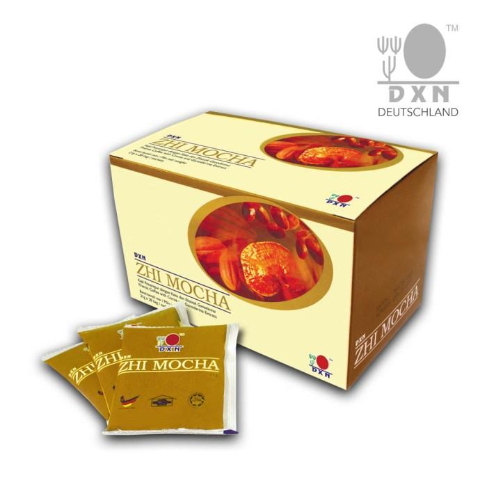 DXN Zhi Mocha - csokis kávé. Élvezd a kávé mellett a kakaó ízét is!