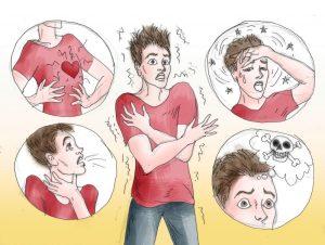 pánikbetegség