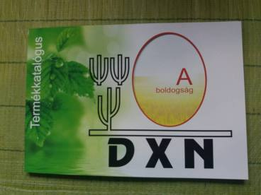 DXN új termékkatalógus