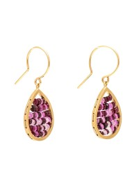 Yellow Gold & Ruby 'Reef' Earrings | e.g.etal | Melbourne