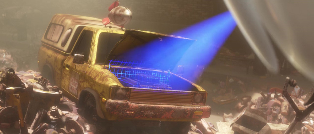 Image result for wall-e pizza planet truck