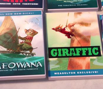 bootlegged disney movies zootopia