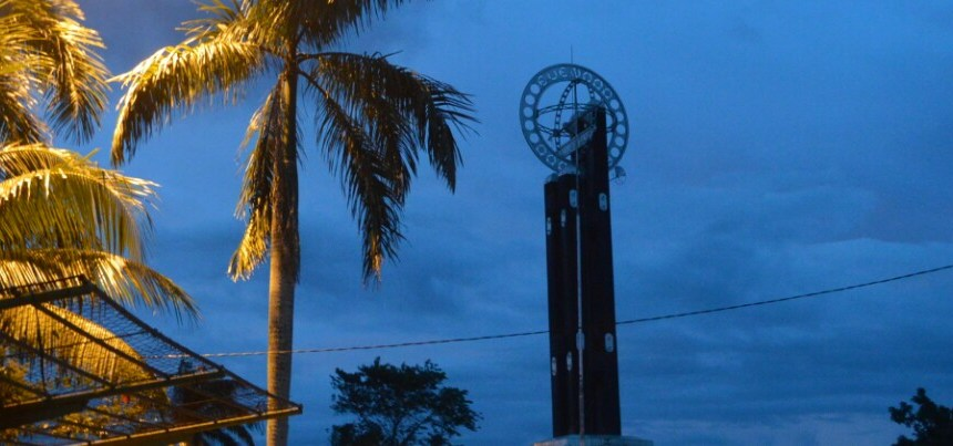 The Equator Monument in Pontianak