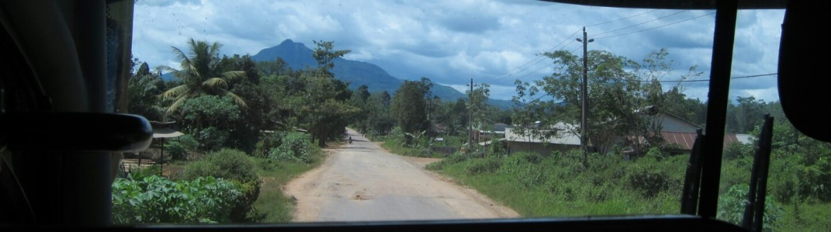 The Road from Kuching to Pontianak - West Kalimantan Part 1
