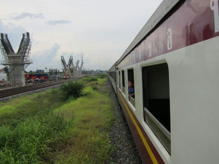 Entering Bangkok