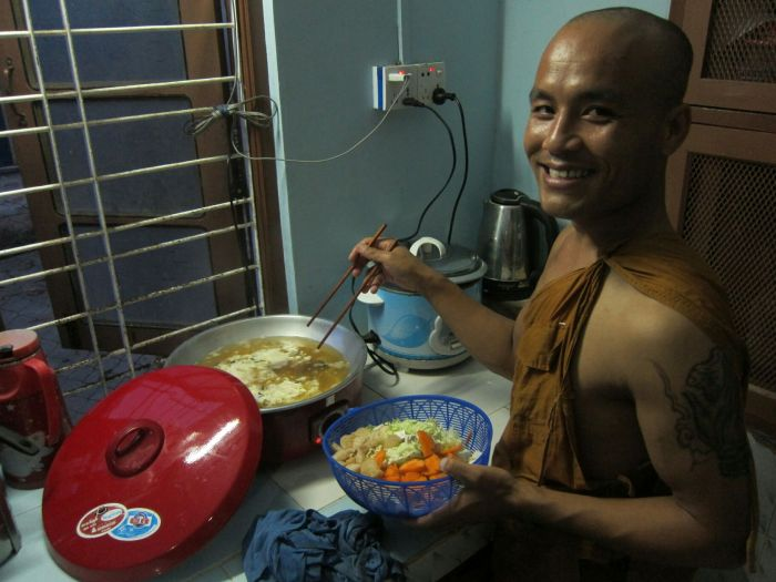 Oh, you naughty, wonderful cooking monk.