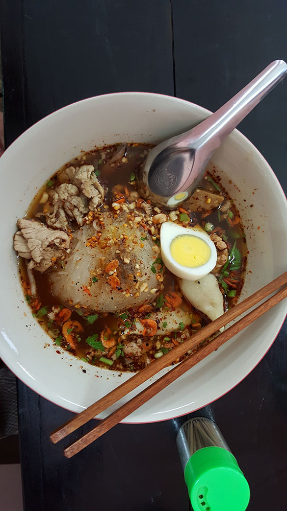 Kuay teow tom yam Sukhothai