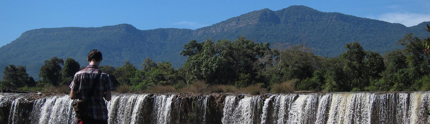 waterfalls, christmas, laos, bolaven plateau,