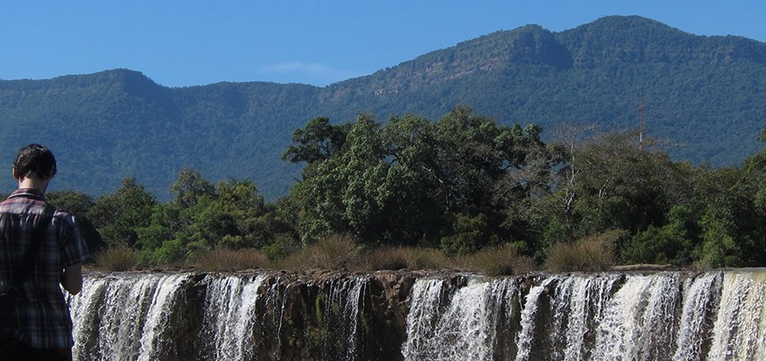 waterfalls, christmas, laos, bolaven plateau,