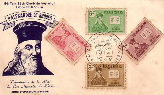 Image taken from Diễn đàn, a Vietnamese stamp enthusiast website.