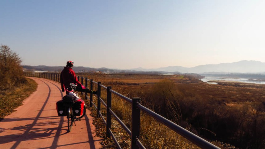 Cycling DMZ Korea