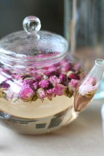 rose petal tea recipe