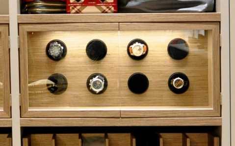 watch case in schmalenbach luxury closet