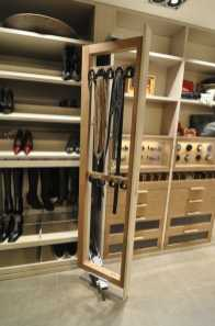 schmalenbach luxury wardrobe is packed with functional storage for men and women's clothing and accessories