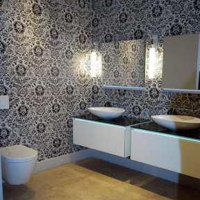 eggersmann cabinetry featured in bathroom design display at studio Toronto