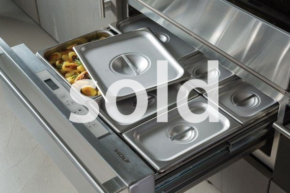 wolf warming drawer – SOLD