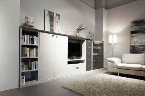 eggersmann modern german cabinets for storage and entertainment
