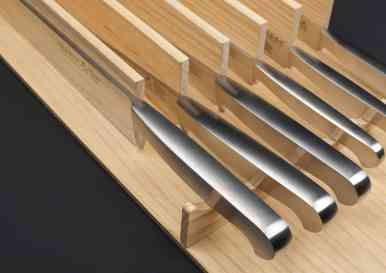 boxtec specialty wooden removable organizer for kitchen drawer