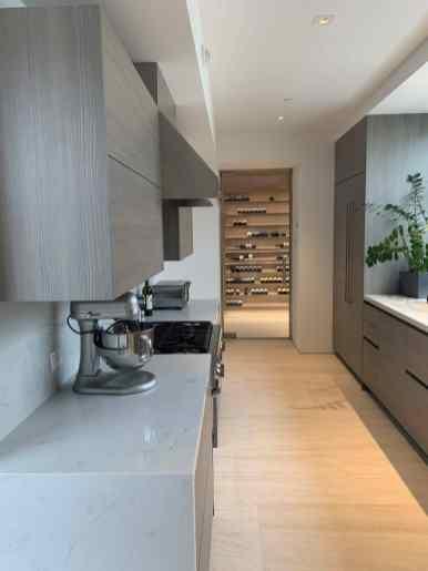 eggersmann minimal kitchen in LA