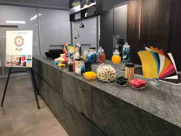 Candy Display from the Sherwin Williams Colormix Forecast 2020