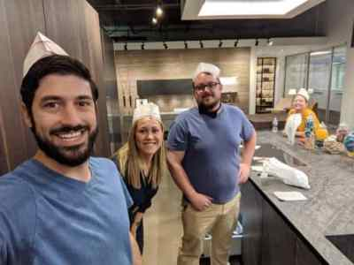 Eggersmann team from the Sherwin Williams Colormix Forecast 2020