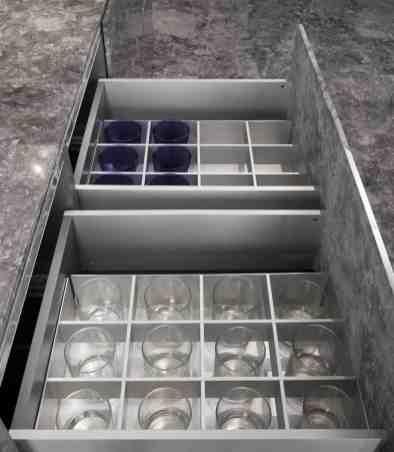 eggersman boxtec drawer organization for barware