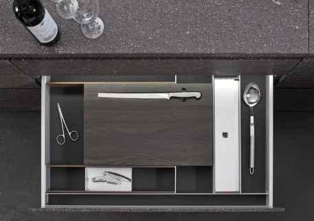 eggersman boxtec drawer organization for serving utensils and gadgets