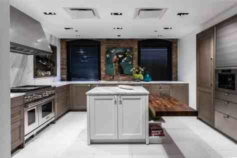 a luxury german kitchen inside eggersmann chicago showroom