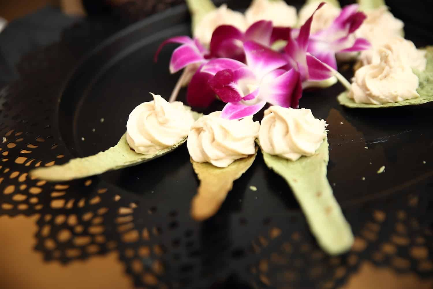 edible spoons by chef mark of dine catering of houston