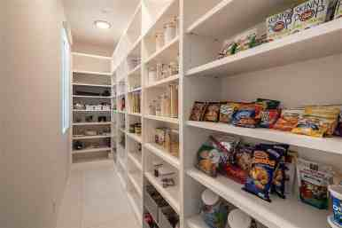 enormous pantry in a tanglewood area home