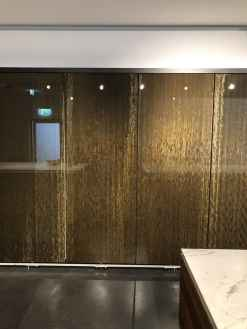 eggersmann factory tour interlink bronze finished wall cabinet doors