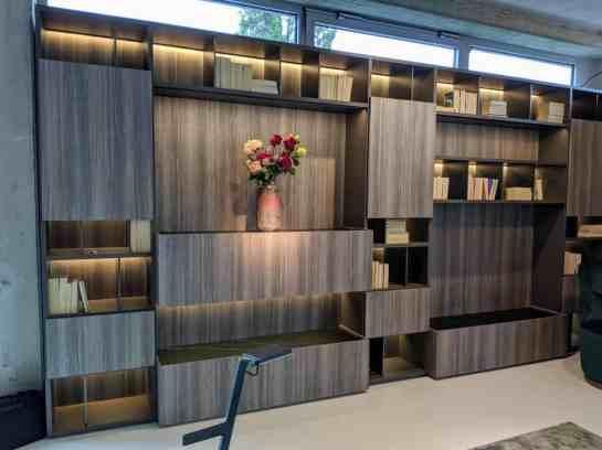 eggersmann factory tour interlink bronze closeupliving room storage shelves