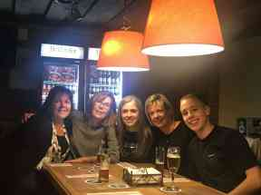 eggersmann team photo at a dinner in muenster germany