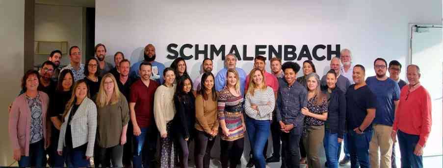 schmalenbach factory tour group photo of eggersmann team