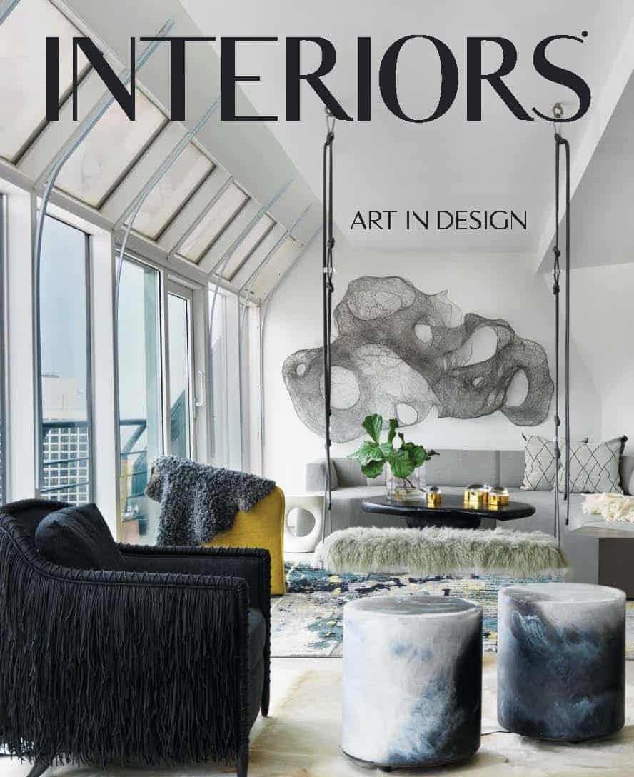 eggersmann wardobe featured in Interiors Magazine