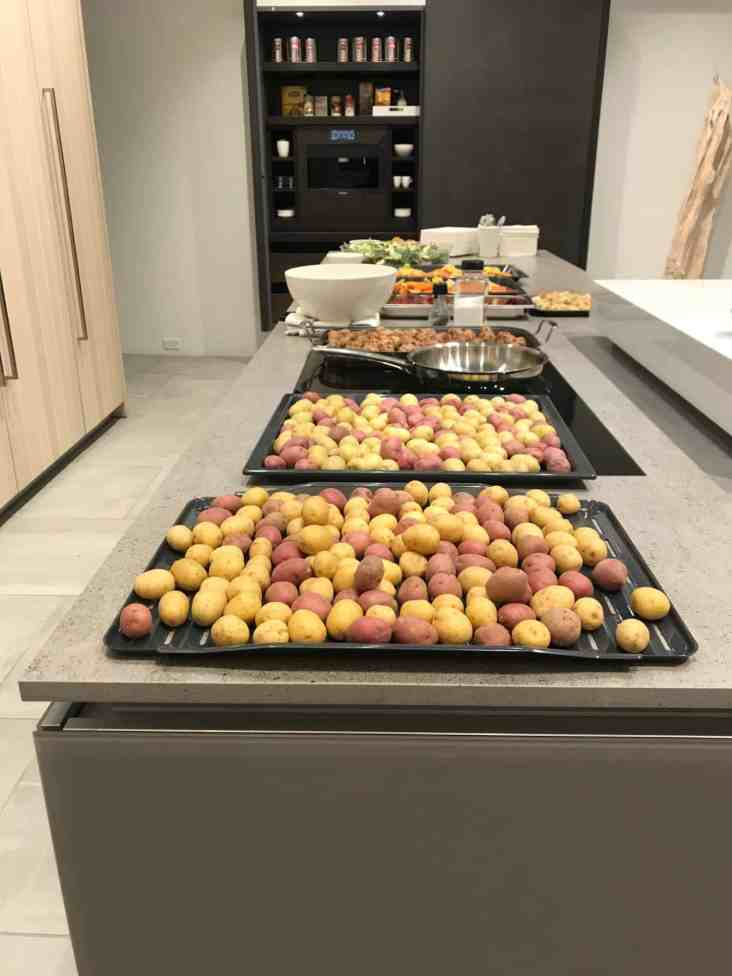 decadent delights prepared by chef saul in the eggersmann la showroom after a january 2020 estate master class