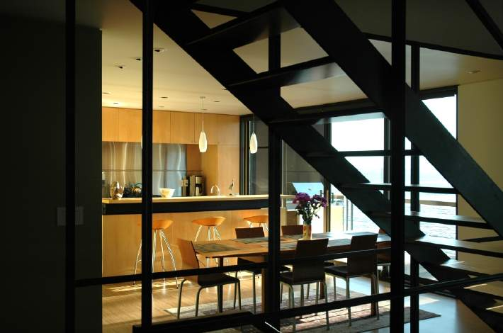 stair and dining