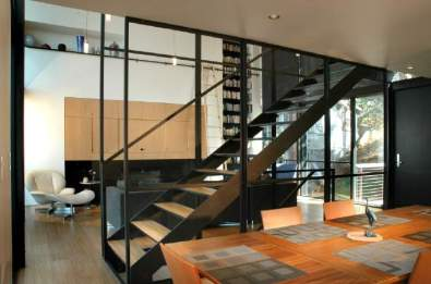 stair from dining