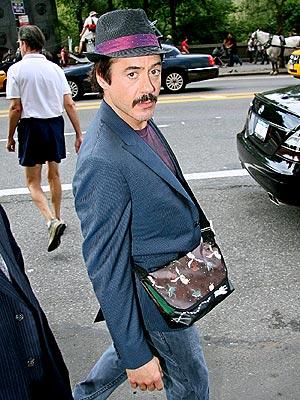 Robert Downey, Jr. in NYC
