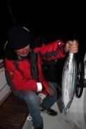 Primera captura, un atún