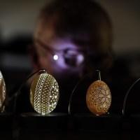 Frank Grom, Egg Sculptor