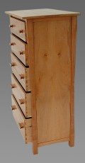 Madrone and Pear Chest of Drawers