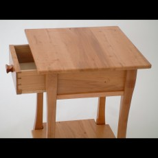 Nightstand with Hand Dovetailed Drawer