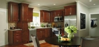 We carry Aristocraft and Wolf Cabinetry